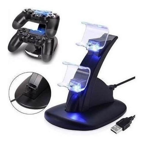 Base Cargador Joystick Control Mando Playstation 4 Ps4 Atrix