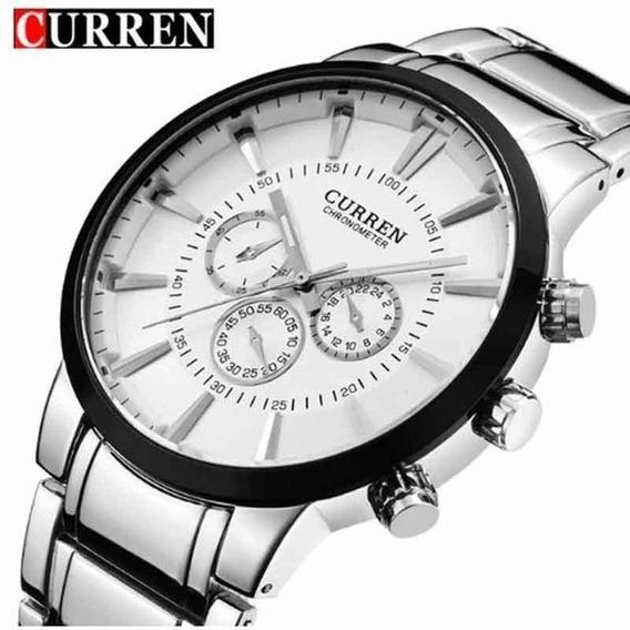 Relógio Curren 8001a Masculino À Prova D