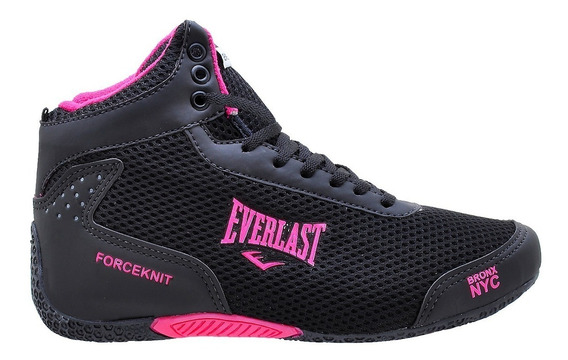 Tenis Cano Alto Everlast Forceknit Unissex