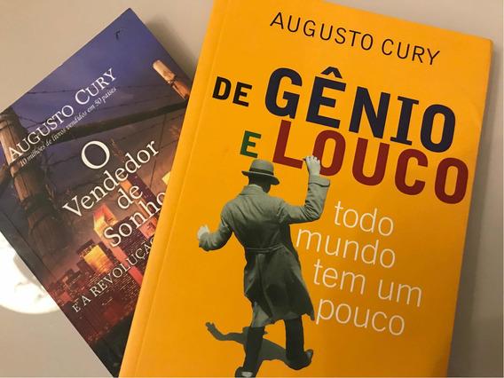 Dois Livros Do Augusto Cury Pelo Preço De Um
