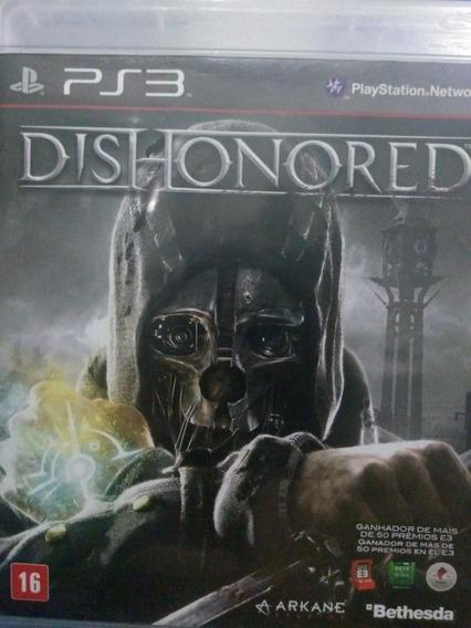 Dishonored Ps3 Original , A Pronta Entrega
