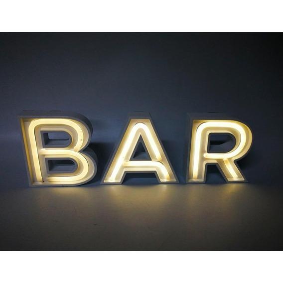 Enfeite Com Led Bar - A/casa