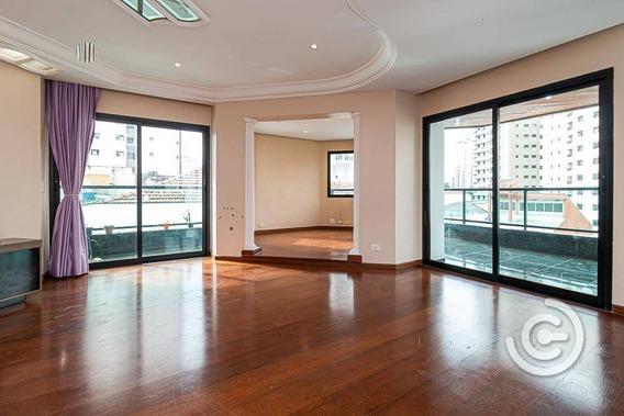 Apartamento Com 4 Dormitórios À Venda, 203 M² Por R$ 1.195.000,00 - Jardim Anália Franco - São Paulo/sp - Ap1285