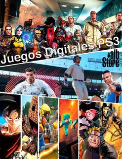 Catalogo De Juegos Digitales Ps3 / Combos De Juegos 2020 Alb