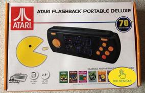 Console Atari Flashback Portable Tela 2.8 C/70 Jogos Novo