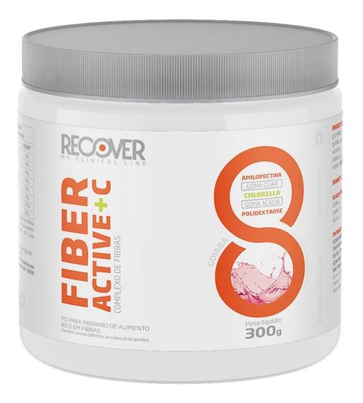 Fibras Fiber Active + C 300g Goiaba - Recover