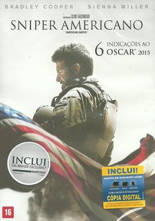 Dvd Filme - Sniper Americano (dublado/legendado/lacrado)