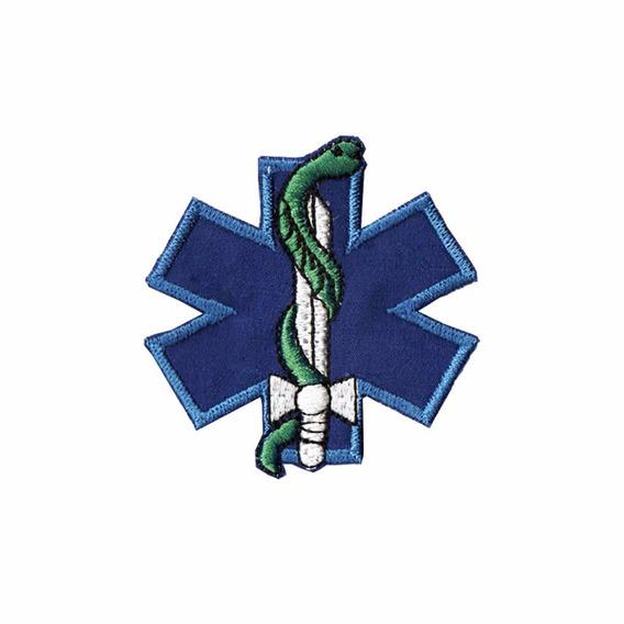 Bordado Termocolante Resgate Azul