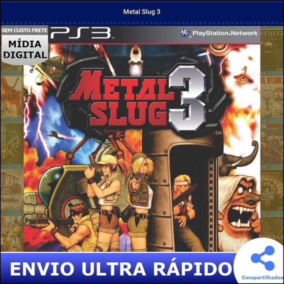 Metal Slug 3 Midia Digital Envio Na Hora