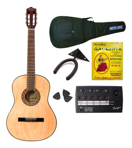 Gracia M2 Combo Guitarra Clasica + Funda + Afinador + Acc