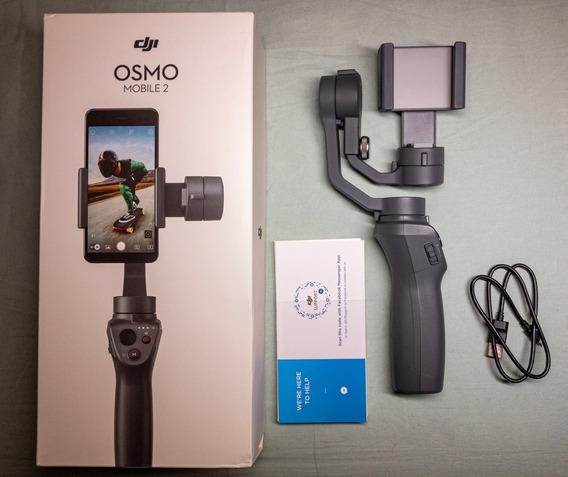 Dji Osmo Mobile 2 - Estabilizador Para Celular Suporte Gimbal Original Pouco Usado 3 Eixos Pronta Entrega Envio Hoje