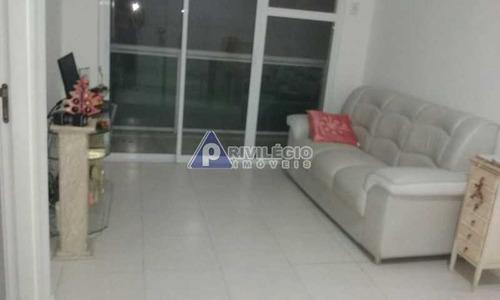 Apartamento À Venda, 2 Quartos, 1 Suíte, 1 Vaga, Botafogo - Rio De Janeiro/rj - 16773