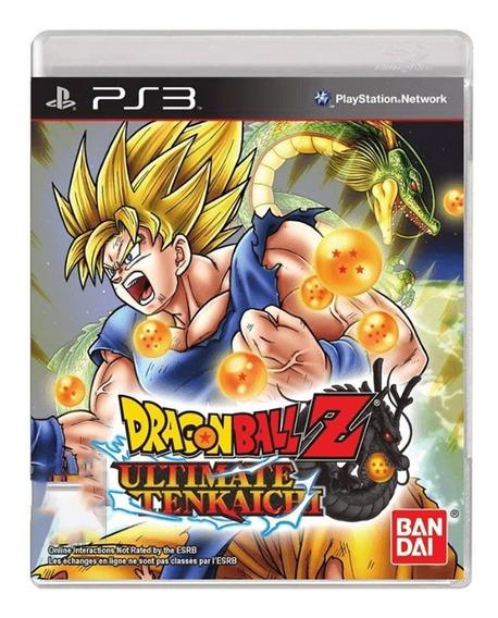 Dragon Ball Z Ultimate Tenkaichi - Ps3 - Usado - Original