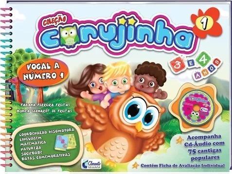 Coleção Corujinha Maternal 3 E 4 Anos + Brinde
