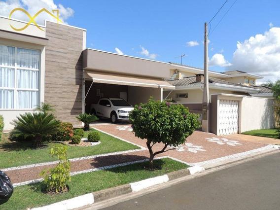 Casa Terrea Condomínio Terras Do Fontanário Em Paulinia - Ca1862