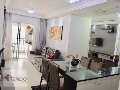 Apartamento Com 2 Dormitórios À Venda, 70 M² Por R$ 455.000 - Independência - São Bernardo Do Campo/sp - Ap0396