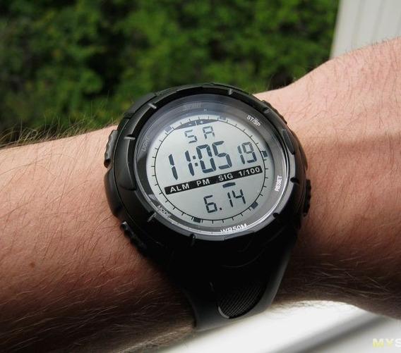 Relógio Skmei 1025 Preto Original - Sport Series Tático Militar Promoção