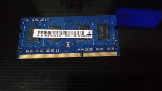 Memoria 2gb Samsung Ddr3 1333mhz Notebook Ba-92-1124a