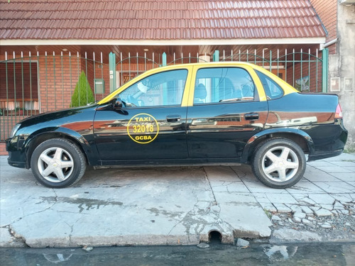 Taxi Chevrolet Corsa Con Licencia 2016 Full O Permuto