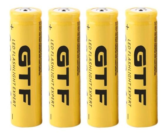 Bateria Recarregável Gtf 18650