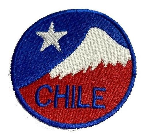 Imagen 1 de 2 de Parche Cordillera Chile (redondo)