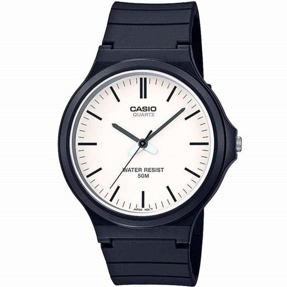 Relógio Masculino Casio Analógico Mw-240-7evdf - Preto