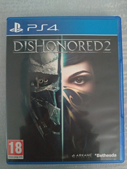 Dishonored 2 Ps4 Midia Física