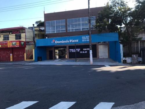 Imagem 1 de 5 de Salão Para Alugar, 570 M² - Vila Alzira - Santo André/sp - Sl1531