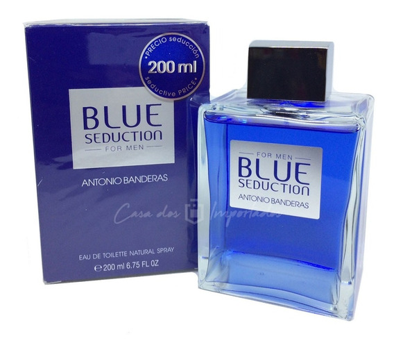Blue Seduction 200ml Masculino | Original Lacrado + Amostra