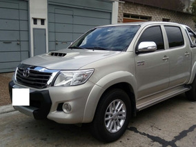 Toyota Hilux Srv Cd 3.0 Tdi Cuero 4x2 Año 2015