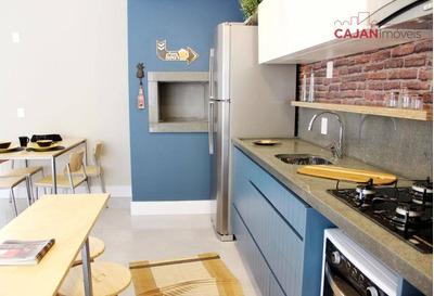 Apartamento Com 1 Dormitório ,terraço E Vaga De Garagem No Bom Fim - Ap4004