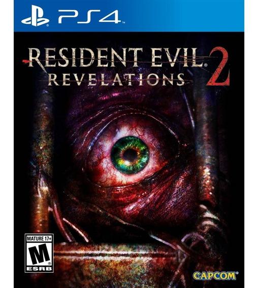 Resident Evil: Revelations 2 Ps4 Lacrado