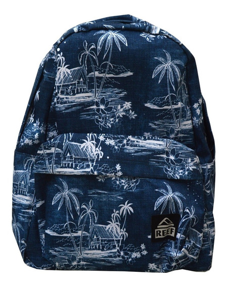 Mochila Reef Hombre Azul Moving On Backpack Rf00l235blh