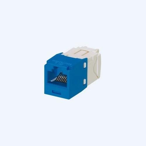 Jack Rj45 Hembra Categoría 6+ab Azul Panduit