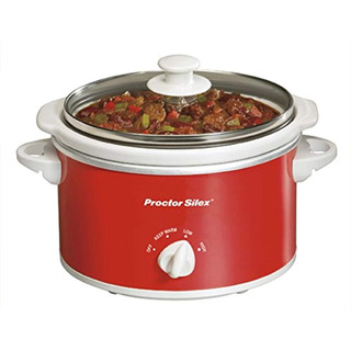 Proctor Silex Portable Slow Cooker Oval, 1,5-quart