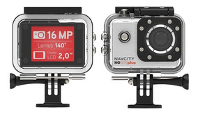 Action Camera Esportiva Go 4k Full Hd Filma Navcity Ng100 Pl