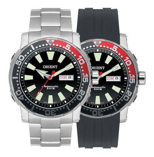 Relógio Orient Automático 469ss039 Visor Preto Frete Grátis