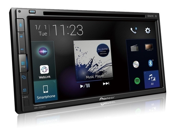 Dvd Player 2din Aux/bluetooth/usb 6,8 Avhz5280tv - Pioneer