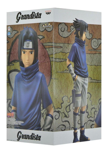 Action Figure Naruto Grandista Shinobi Uchiha Sasuke2 Bandai