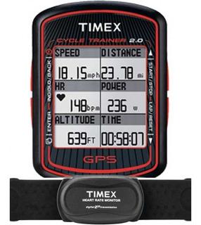 Monitor Cardíaco Com Gps Timex *cycle Trainer 2.0 T5k615ra/