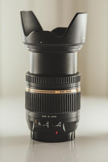 Lente Objetiva Zoom Tamron 17-50 F/2.8 Vc Estabilizada Canon