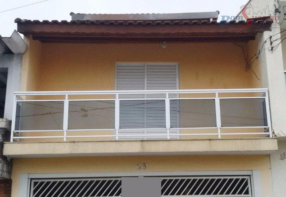 Sobrado Residencial À Venda, Vila Dalila, São Paulo. - So0668