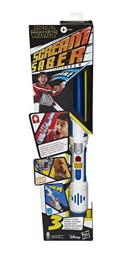Imagen 1 de 4 de Sable De Luz Con Sonidos Scream Saber Star Wars - Hasbro