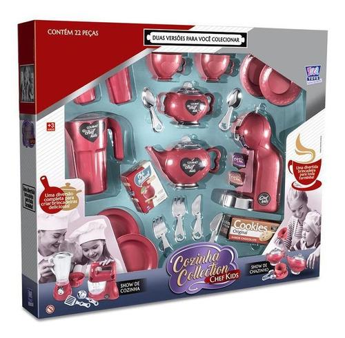 Imagem 1 de 2 de Show De Chazinho Chef Kids Zuca Toys