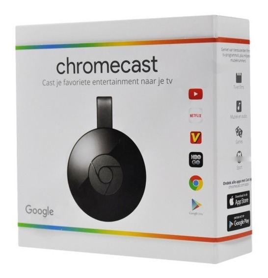 Chrome Cast Google Hdmi Chromecast P/ Smartphone Tablet Etc