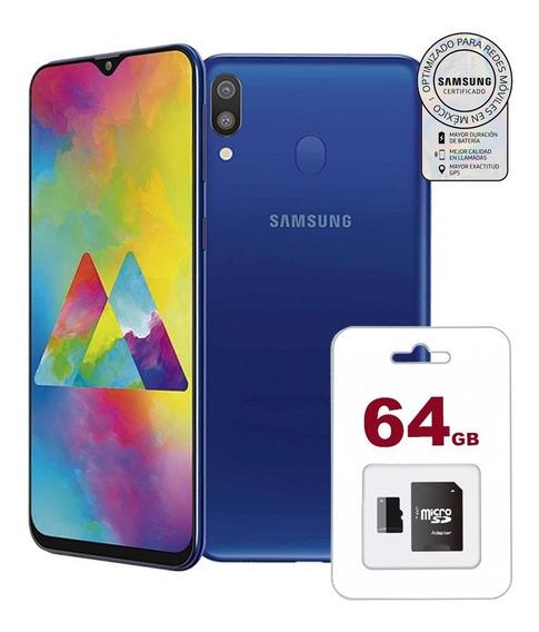 Samsung Galaxy M20 32gb+3ram + Memoria64gb Garantia Samsung