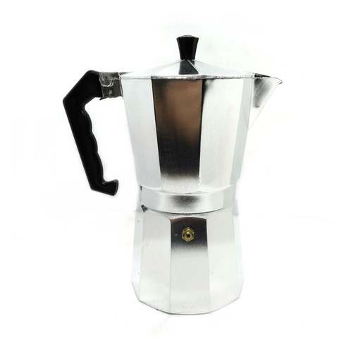 Cafetera Tipo Italiana Volturno 9 Pocillos Aluminio Hudson