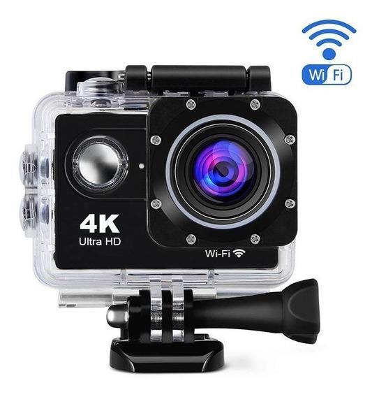 Câmera Sub Aquática Esporte Ação 4k Ultra Hd Pronta Entrega