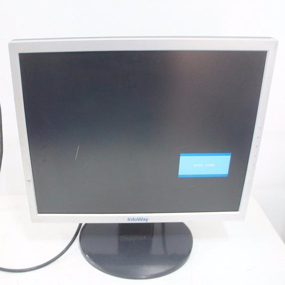 Monitor Itautec Infoway L1753tq Lcd 17p Com Base