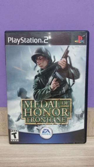 Medal Of Honor Frontline Original Playstation 2 Completo